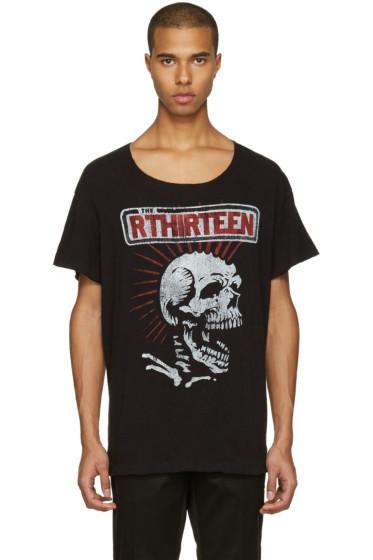 R13 - Black Skull Lukas T-Shirt