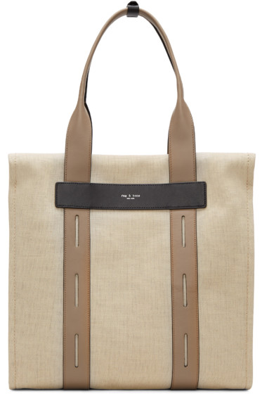 Rag & Bone - Beige Summer Friday Tote
