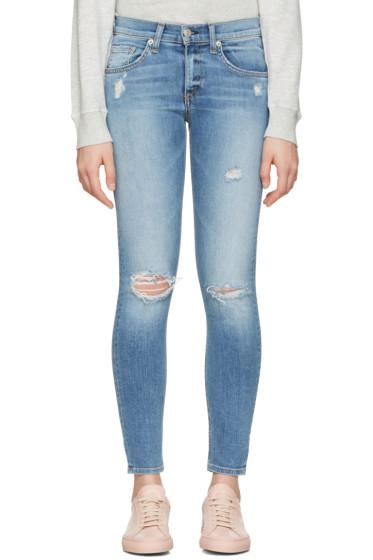 Rag & Bone - Indigo Capri Jeans