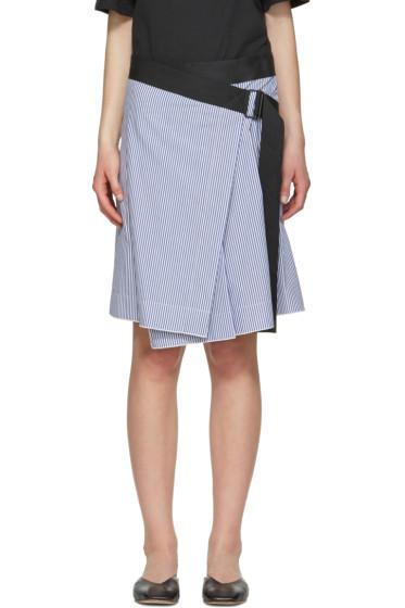 Rag & Bone - Blue Lenna Skirt