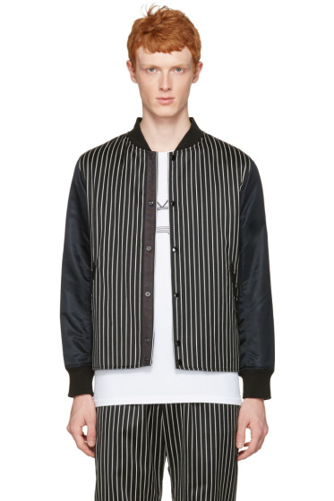 Rag & Bone - Black Irving Bomber Jacket