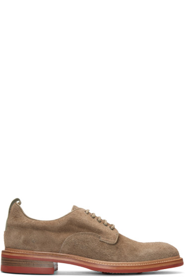 Rag & Bone - Beige Suede Spencer Derbys