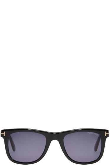 Tom Ford - Black Leo Sunglasses