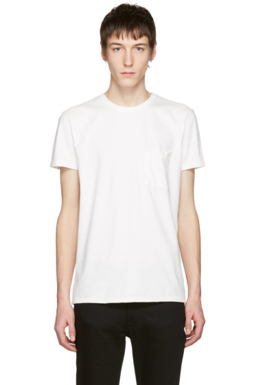 Nudie Jeans - Off-White Anders Tilted Pocket T-Shirt