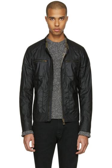 Belstaff - Black Waxed Cotton Weybridge Jacket
