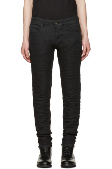 Diesel Black Gold - Black Knitted Type-2628 Jeans