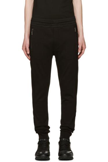 Diesel Black Gold - Black Panelled Lounge Pants