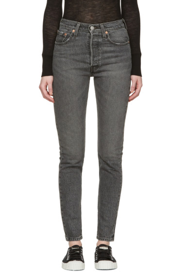 Levi's - Black 501 Skinny Jeans