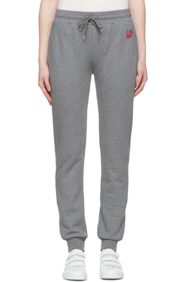 McQ Alexander Mcqueen - Grey Slim Lounge Pants