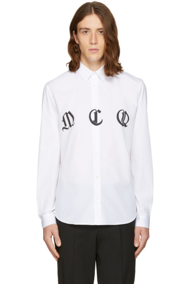 McQ Alexander Mcqueen - White Sheehan Shirt