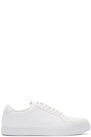 Tiger of Sweden - White Arne Sneakers