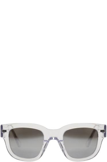 Acne Studios - Transparent Frame Metal Sunglasses