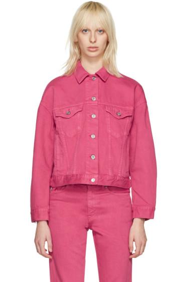 Acne Studios - Pink Denim Lab Jacket