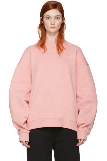 Acne Studios - Pink Yana Face Sweatshirt