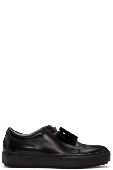 Acne Studios - Black Adriana TurnUp Sneakers