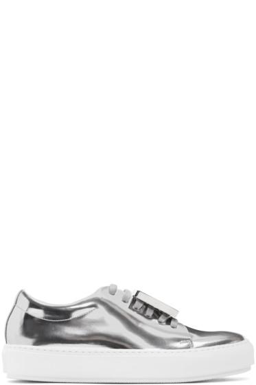 Acne Studios - Silver Metallic Adriana Sneakers