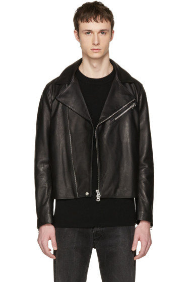 Acne Studios - Black Leather Axl Jacket
