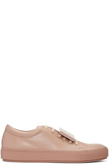 Acne Studios - SSENSE Exclusive Pink Adrian Sneakers