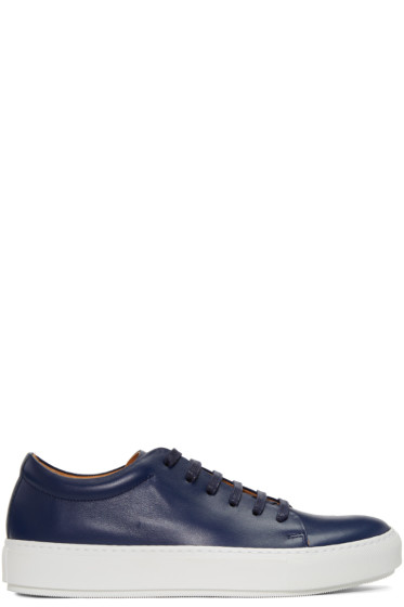 Acne Studios - Navy Adrian TurnUp Sneakers