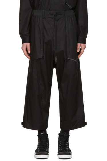 Y-3 - Black MIL SPC Trousers