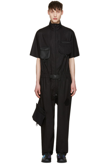 Y-3 - Black X Military Jumpsuit