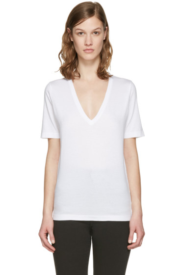 Dsquared2 - White V-Neck Renny Fit T-Shirt