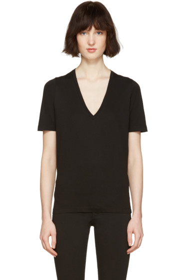 Dsquared2 - Black V-Neck Renny Fit T-Shirt