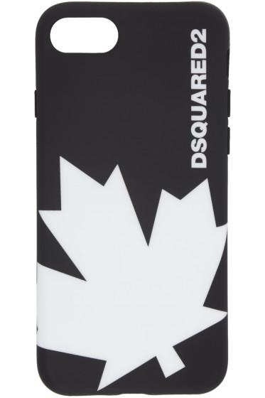 Dsquared2 - Black Logo iPhone 7 Case