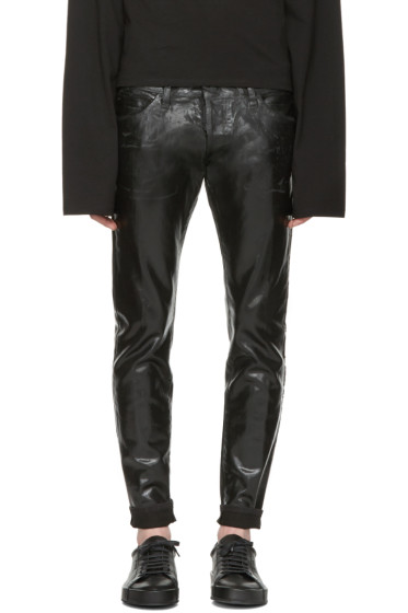 Dsquared2 - Black Coated Clement Jeans