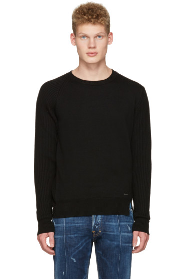 Dsquared2 - Black Wool Sweater
