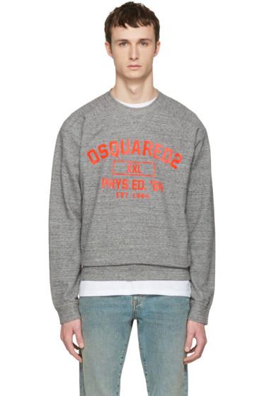 Dsquared2 - Grey Logo Pullover
