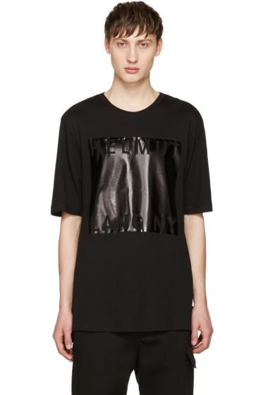 Helmut Lang - Black Logo T-Shirt