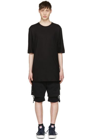 Helmut Lang - Black Drawcord T-Shirt