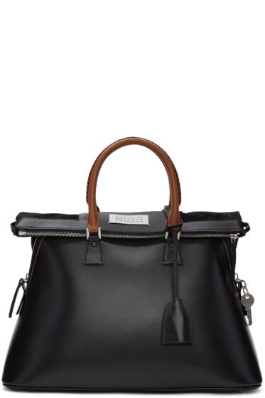 Maison Margiela - Black Large Top Handle Bag