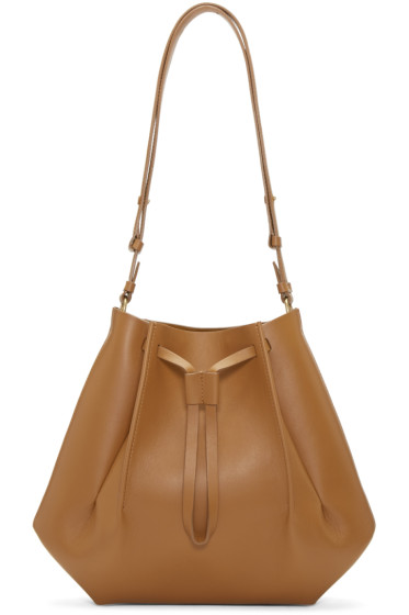 Maison Margiela - Tan Leather Bucket Bag