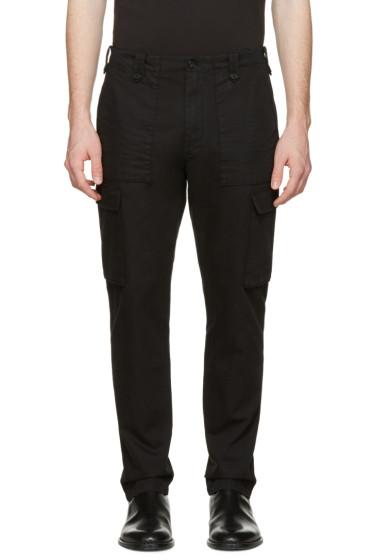 Maison Margiela - Black Cargo Trousers