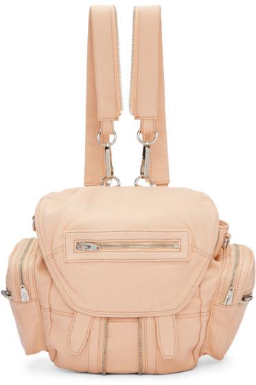 Alexander Wang - Pink Mini Marti Backpack