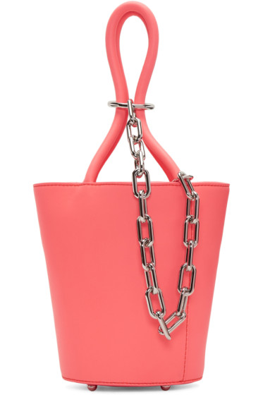 Alexander Wang - Pink Mini Roxy Bucket Bag