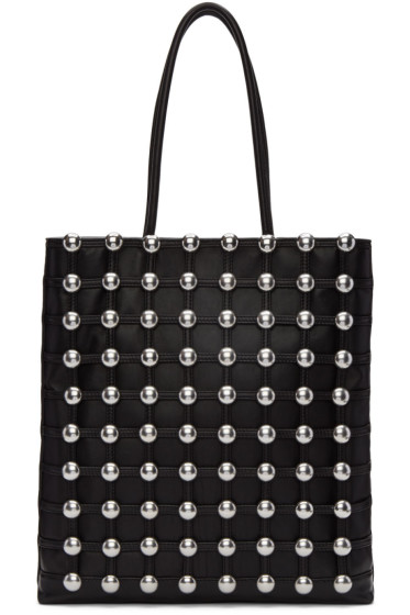 Alexander Wang - Black Studded Cage Tote