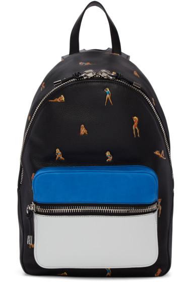 Alexander Wang - Black Leather Berkeley Bikini Backpack