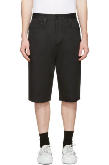 Alexander Wang - Black Skater Shorts