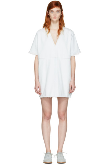 MM6 Maison Margiela - Blue Denim Short Dress