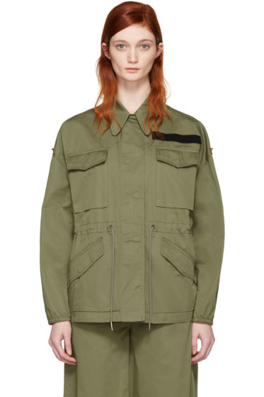 MM6 Maison Margiela - Khaki Short Jacket