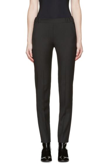 MM6 Maison Margiela - Black Tropical Wool Trousers
