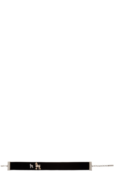 Marc Jacobs - Black Velvet Poodle Paradise Choker