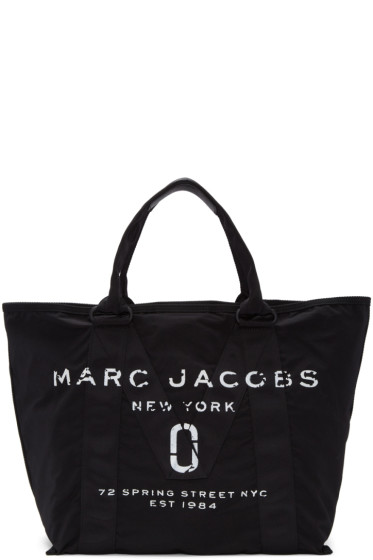 Marc Jacobs - Black Large New Logo Tote