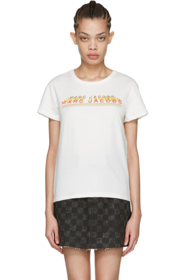 Marc Jacobs - Ivory Classic Logo T-Shirt