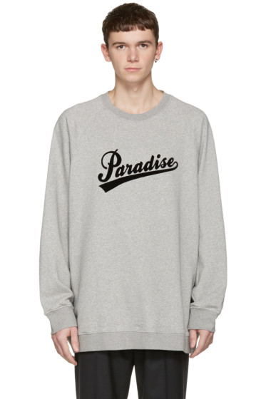Marc Jacobs - Grey 'Paradise' Pullover