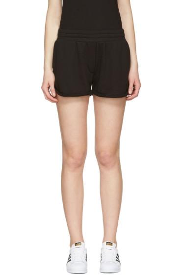 T by Alexander Wang - Black Gym Shorts