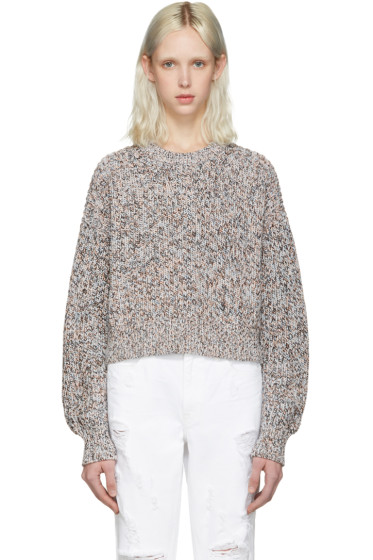 T by Alexander Wang - Multicolor Cropped Sweater